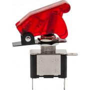 Тумблер 20A (12 вольт)  с защитной крышкой