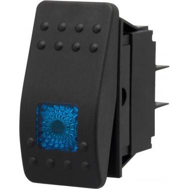 Кнопка (переключатель) включения универсальная с подсветкой