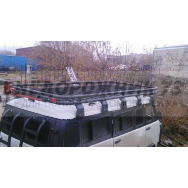 Экспедиционный багажник Аллигатор на УАЗ 452 /3,7м