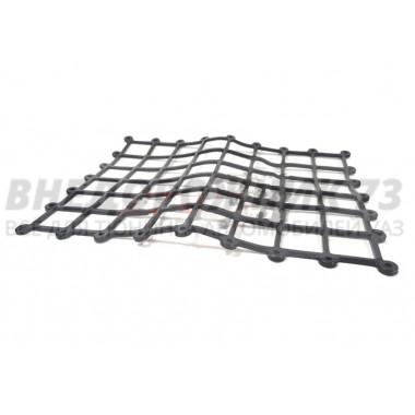 Карман-сетка накладной 280х215 мм черный (полиуретан)