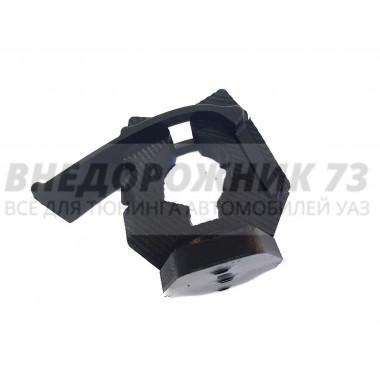 Крепление лопаты малое (под 1-3 болта, продольное) черное (полиуретан)