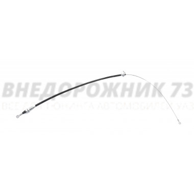 Трос ручника УАЗ-Пикап (рестайлинг 2017г.) 1340 мм