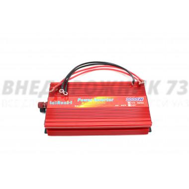 Инвертор напряжения автомобильный «LaiRun» 12V-220V 3000W