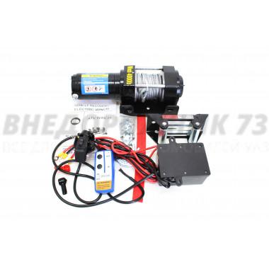 Лебедка электрическая 12V Electric Winch 4000lbs / 1814 кг
