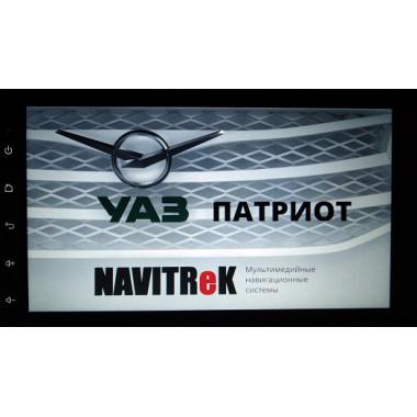 Автомагнитола «Navitrek NT-178/102 UP Android» для УАЗ Патриот (2013-2020)
