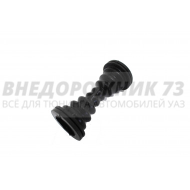 Трубка защитная провода передней двери (силиконовая) черная