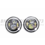 Фара светодиодная головная встраиваемая УАЗ, Нива (комплект 2 шт) P030 30W HaLei