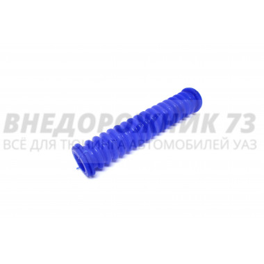 Трубка защитная провода задней двери (силиконовая ) синяя