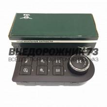 Модуль 56.3769-20 управления режимами раздаточной коробки (+ обогревом сидений,руля,стекла,блокировка)