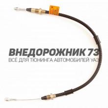 Трос привода ручного тормоза УАЗ 31512
