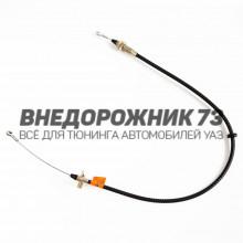 Трос привода ручного тормоза УАЗ 3163-10 Патриот с 01.10.2013г.в.