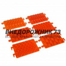 Антибукс в пленке, оранжевый, 13,5х19,5x0,5 см, 6 шт