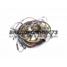 Жгут проводов по кузову УАЗ Патриот инжектор 3163-3724030-40