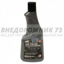Автополироль для кузова цветная (серебристая) (473мл) ABRO