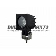Фара светодиодная CH016 10W 1 диод 10W