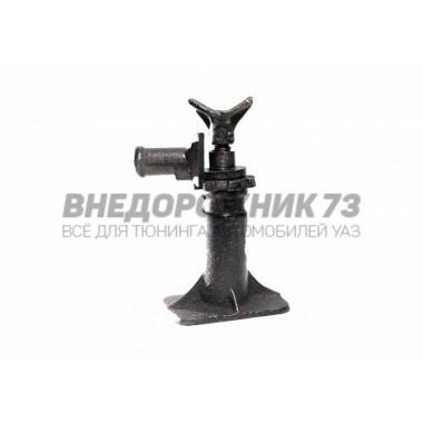Домкрат винтовой механический УАЗ 2 т (чугун)