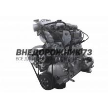 Двигатель (107 л. с) УМЗ 4213 ОЕ, АИ-92 инжектор, под лепестковую корзину ЕВРО-3 (грузовой ряд)
