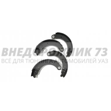 Колодка тормозная задняя 469 (к-т 4 шт)