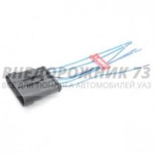 Колодка с проводами жгута форсунок, жгута ЭСУД (6 конт. штыревая)