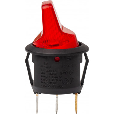Тумблер двухпозиционный с led-подсветкой
