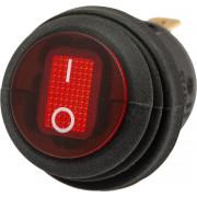 """Выключатель клавиша герметичная """"круглая"""" (диаметр 20мм)"""