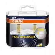Комплект ламп H7 12V 55W PX26d FOG BREAKER +60% больше света, 2600К 2шт