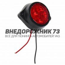 Фонарь габаритный светодиодный, красный, 12В