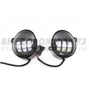 LED фары для УАЗ Патриот, Пикап, Профи, Карго