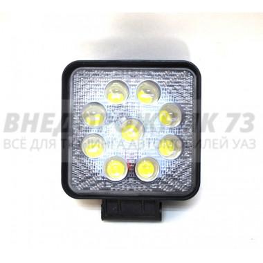 Фара светодиодная CH006 27W 4D 9 диодов по 3W