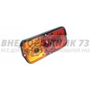 Фонарь светодиодный задний УАЗ с дополнительным противотуманным огнем (желто-красный)