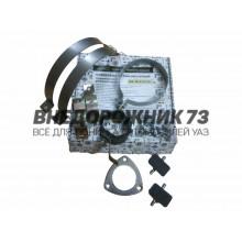 Комплект установочный глушителя с резонатором УАЗ Патриот, Карго, Пикап дв. 409 с 2013 года