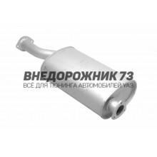 Глушитель УАЗ 31602, Хантер ЗМЗ-409 под катализатор , резонатор 2 на 3 болта