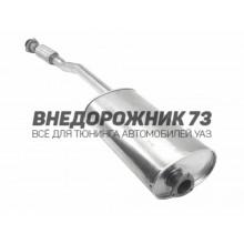 Глушитель УАЗ Патриот Евро-3 (под электр. РК)