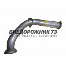 Труба приемная глушителя УАЗ 3741 ЗМЗ-409 Евро-2 (под датчик)