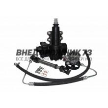 """Комплект замены системы гур """"Delphi"""" на """"YuBei"""" УАЗ-3163 Патриот (механизм, насос, карданчик, шланги, штуцера)"""