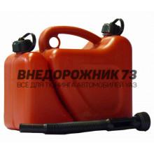 Канистра пластиковая комбинированная (бензин + масло)