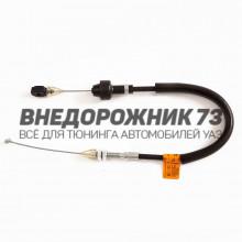 Трос привода акселератора УАЗ 31512 (Хантер дв. 4218)