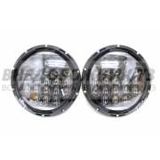 Фара светодиодная головная встраиваемая УАЗ, Нива (комплект 2 шт) P035 105W 5D