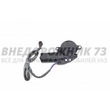 Моторчик стеклоподъемника Патриот 3163 прав.,влагозащ. разъём ( евро, черный провод)