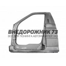 Боковина кабины левая УАЗ ПРОФИ 236021/236022 (одинарная кабина)