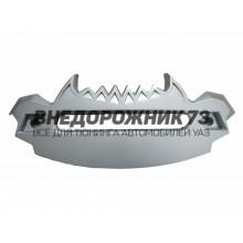 Клюз алюминиевый для лебедок 12000 (с зубами)