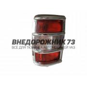 Накладки задних фонарей Патриот, 3160 Хром (к-т 2 шт)