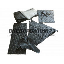 Комплект обшивки салона УАЗ 469, 31512 (прострочка ромбом)