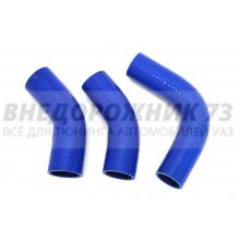 Патрубки силиконовые радиатора УАЗ 452/469 дв. 417 (90 л/с) (3 шт)
