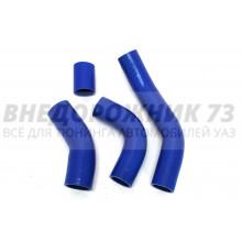 Патрубки силиконовые радиатора УАЗ 452 грузовой дв. 421 (100 л/с) (4 шт)