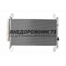 Конденсатор (радиатор) кондиционера с рессивером УАЗ-Патриот (рестайлинг 2017 г.)