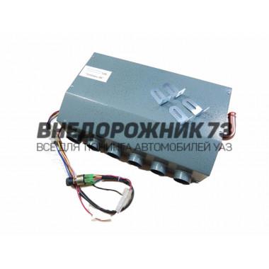 Печка-обогреватель салона автомобиля 12v 6 сопла с управлением