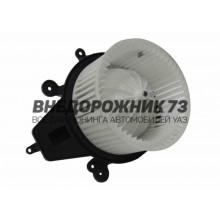 Электровентилятор печки (электродвигатель отопителя) УАЗ 3163 Патриот