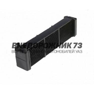 Радиатор отопителя УАЗ 452 Ø 16 3-х рядн. (ШААЗ) 3741 73-8101060-10 прям. труб