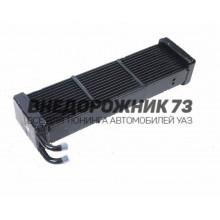 Радиатор отопителя УАЗ 469 3-х рядный (ШААЗ) d16 крив. труб.
